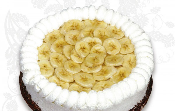 Bananfromagetårta